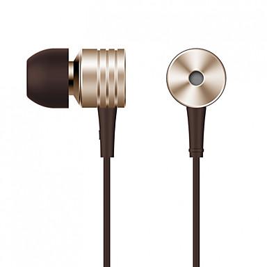 Xiaomi In het oor Bekabeld Hoofdtelefoons Aluminum Alloy Mobiele telefoon koptelefoon Met volumeregeling / met microfoon /