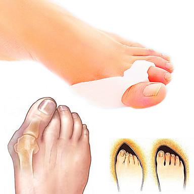Tüm Vücut Ayak Destekler Toe Ayırıcı & Bunyon Pad Duruş Şekli Düzeltici Destek Silikon