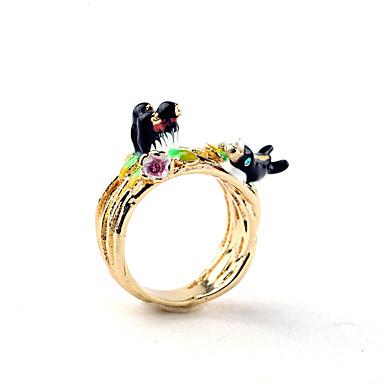 للمرأة خاتم الطبيعة شخصية أسلوب بسيط سبيكة مجوهرات من أجل حزب عيد ميلاد مناسبة / حفلة