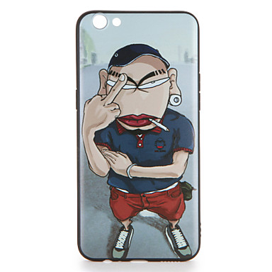 Voor oppo r9s r9s plus case cover patroon achterkant behuizing cartoon soft tpu r9 r9 plus