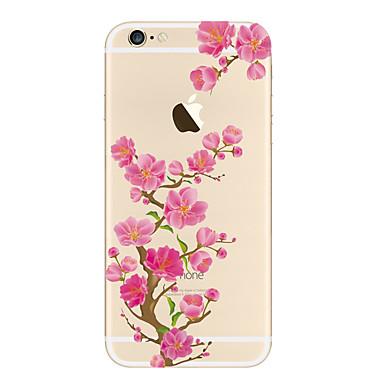 Hülle Für iPhone 5 Apple Transparent Muster Rückseite Blume Weich TPU für iPhone SE/5s iPhone 5