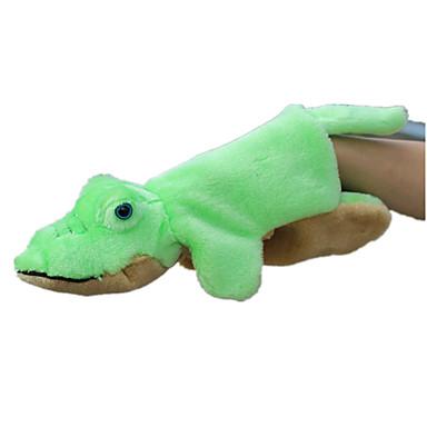 Vingerpoppetjes Poppen Knuffels Speeltjes Krokodil Dier Dieren Simulatie tactel Kinderen Stuks
