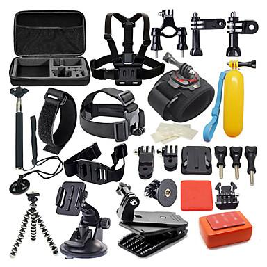 Accessoires Kit 42 in 1 / Wasserfest Zum Action Kamera Gopro 6 / Gopro 5 / Xiaomi Camera Tauchen / Surfen / Jagd-und Fischerei Kunststoff