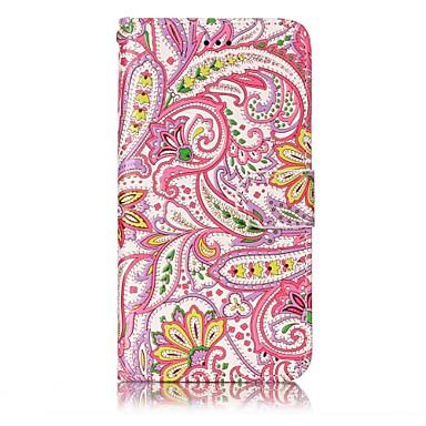 Für huawei p10 lite p8 lite2017 Gehäuseabdeckung Kartenhalter Brieftasche geprägtes Muster Ganzkörpergehäuse Blume hartes PU-Leder für p10