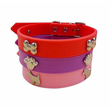 Het huisdier hond kraag tractie rubberen kleine hond pomeranische tactiek bichon huisdier kraag