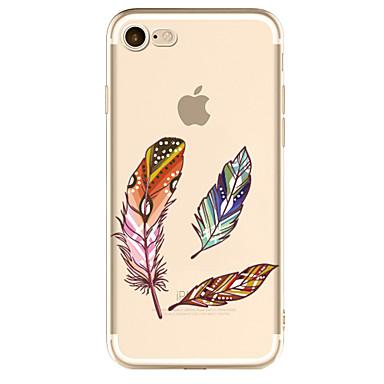 غطاء من أجل Apple شفاف نموذج غطاء خلفي الريش ناعم TPU إلى فون 7 زائد فون 7 iPhone 6s Plus iPhone 6 Plus iPhone 6s أيفون 6