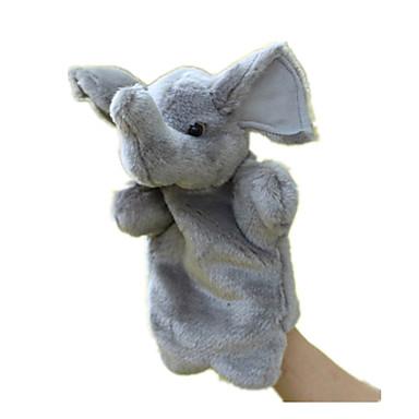 Vingerpoppetjes Poppen Speeltjes Rabbit Dier Dieren Pluche stof Baby Stuks
