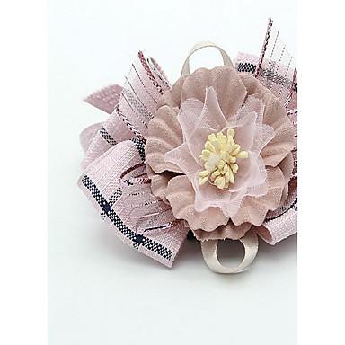 Halsbänder Bastelmaterial Klappbar Einstellbar Blume Spitze Stoff
