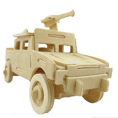 3D - Puzzle Auto Spaß Holz Klassisch