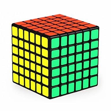 Zauberwürfel QI YI Glatte Geschwindigkeits-Würfel Magische Würfel Puzzle-Würfel Glatte Aufkleber Wettbewerb Quadratisch Geschenk Unisex
