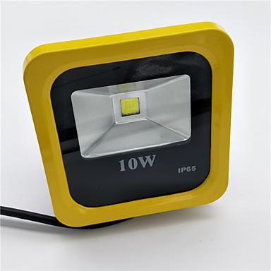 1pc 10W Lawn Lights LED-schijnwerperlampen Waterbestendig Decoratief Warm wit Koel wit 85-265V Buitenverlichting