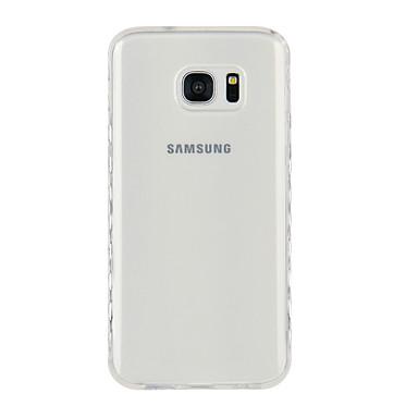hoesje Voor Samsung Galaxy S8 Plus S8 Transparant Achterkant Effen Kleur Zacht TPU voor S8 Plus S8 S7 edge S7 S6 edge plus S6 edge S6 S5