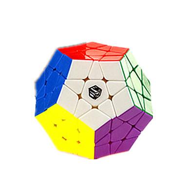 cubul lui Rubik QI YI Warrior Megaminx 3*3*3 Cub Viteză lină Cuburi Magice puzzle cub Altele Cadou