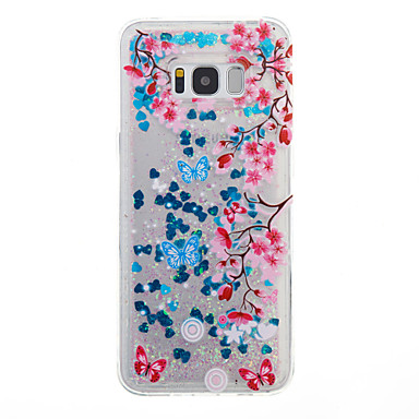 غطاء من أجل Samsung Galaxy S8 Plus S8 سائل متدفق غطاء خلفي زهور ناعم TPU إلى S8 Plus S8 S7 edge S7 S6 edge S6 S5