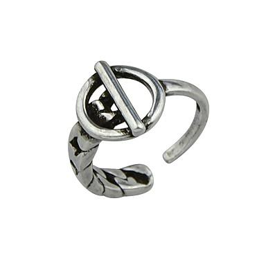 للمرأة خاتم أساسي سبيكة مجوهرات فضفاض