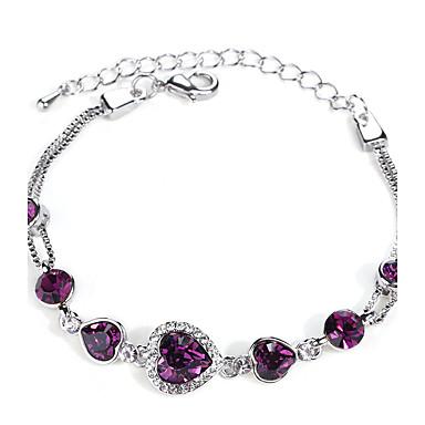 Pentru femei Brățări cu Lanț & Legături Bijuterii Vintage Natură Modă Confecționat Manual Cristal Aliaj Round Shape Bijuterii Pentru
