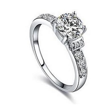 للمرأة خواتم الزوجين خاتم أزرق ياقوتي الاصطناعية الياقوت روبي الاصطناعية أساسي الأحجار الكريمة الاصطناعية الفولاذ المقاوم للصدأ / الحديد