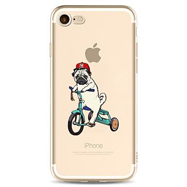 غطاء من أجل Apple iPhone 7 Plus iPhone 7 شفاف نموذج غطاء خلفي كلب كارتون ناعم TPU إلى iPhone 7 Plus iPhone 7 iPhone 6s Plus ايفون 6s