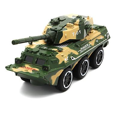 Vehicul Militar Rezervor Toy Trucks & Vehicule de constructii Jucării pentru mașini 01:32 Simulare Aliaj Metalic Unisex Pentru copii