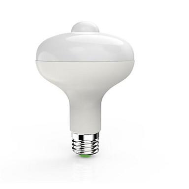 1pc 9 W 900 lm E26 / E27 Slimme LED-lampen 18 LED-kralen SMD 5730 Sensor / Infrarood Sensor / Licht controle Warm wit / Koel wit 85-265 V / 1 stuks / RoHs