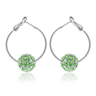Pentru femei Cercei cu bile Bijuterii Personalizat Modă Euramerican Cristal Aliaj Bijuterii Bijuterii Pentru Nuntă Petrecere
