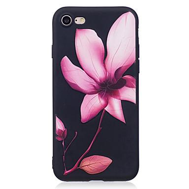Maska Pentru Apple Model Carcasă Spate Floare Moale TPU pentru iPhone 7 Plus iPhone 7 iPhone 6s Plus iPhone 6 Plus iPhone 6s iphone 6