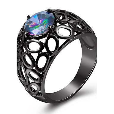 Dames Statementringen Ring imitatie Diamond Basisontwerp Klassiek Kostuum juwelen Modieus PERSGepersonaliseerd Euramerican Luxe Sieraden