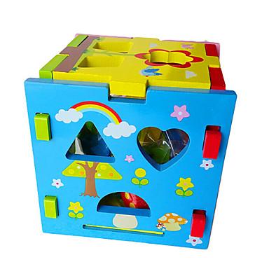 Lego Pegged puzzle-uri Jucarii Pătrat Lemn Pentru copii Bucăți