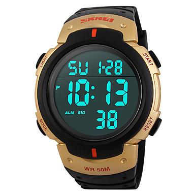 Uita-te inteligent Rezistent la Apă Standby Lung Multifuncțional Sporturi Cronometru Ceas cu alarmă Cronograf Calendar Other Nr Slot Sim