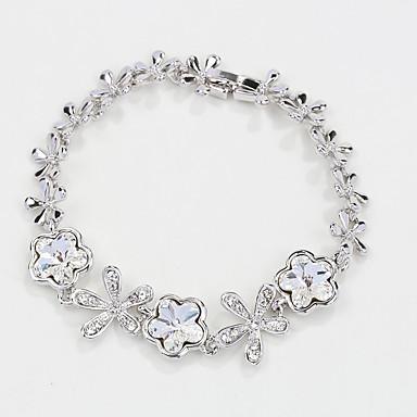 للمرأة أساور السلسلة والوصلة مجوهرات الطبيعة موضة عتيقة مصنوع يدوي والمجوهرات كريستال سبيكة Star Shape مجوهرات من أجل زفاف حزب عيد ميلاد