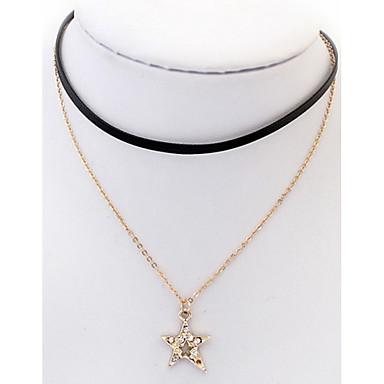 للمرأة نجمة مخصص مجوهرات دينية ترف هندسي كلاسيكي قديم حجر الراين بوهيميان أساسي أحجار الراين الصداقة ملابس-طرق متعددة اسلوب لطيف