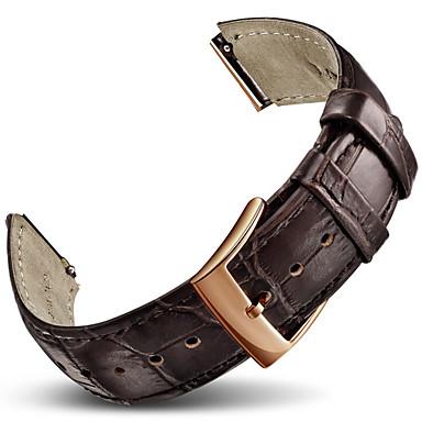 voor huawei horlogeband band effen kleur lederen sportband horlogebandjes voor Huawei