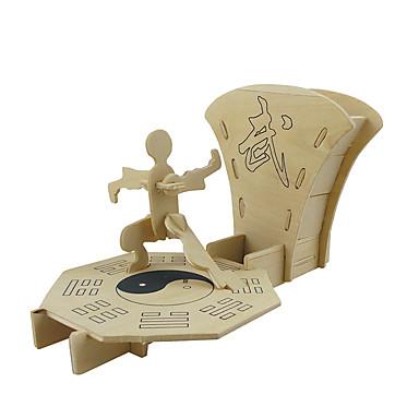 قطع تركيب3D النماذج الخشبية مجموعات البناء ألعاب لهو خشب كلاسيكي