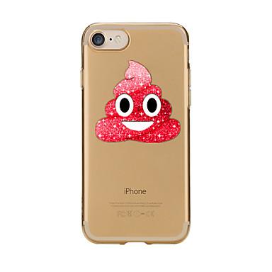 Pentru Carcase Huse Transparent Model Carcasă Spate Maska Desene Animate Moale TPU pentru AppleiPhone 7 Plus iPhone 7 iPhone 6s Plus