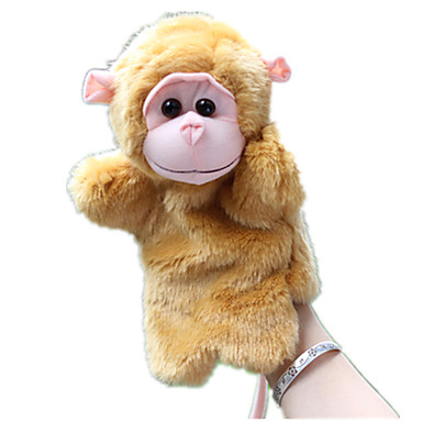 Parmak Kuklalar Kuklalar Maymun Tatlı Hayvanlar Sevimli Tactel Peluş