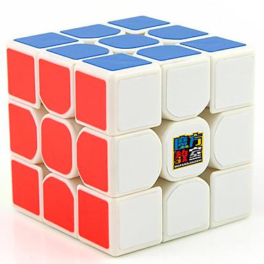 Zauberwürfel 3*3*3 Glatte Geschwindigkeits-Würfel Magische Würfel Zum Stress-Abbau Bildungsspielsachen Puzzle-Würfel Glatte Aufkleber