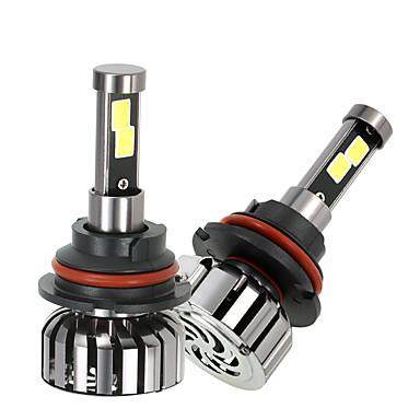 2pcs 9007 سيارة لمبات الضوء 40W W 4000lm lm LED مصباح الرأس Forعالمي
