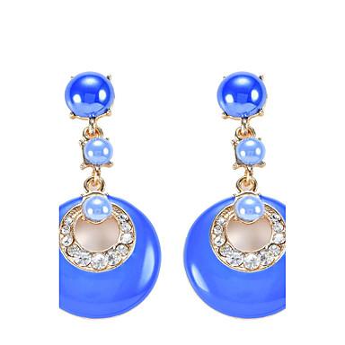 Dames Druppel oorbellen Cirkelvormig ontwerp Bohemia Style arylic Legering Sieraden Sieraden Voor Feest Dagelijks Causaal Toneel