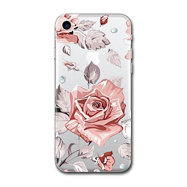 Maska Pentru Apple Model Carcasă Spate Desene Animate Floare Moale TPU pentru iPhone 7 Plus iPhone 7 iPhone 6s Plus iPhone 6 Plus iPhone