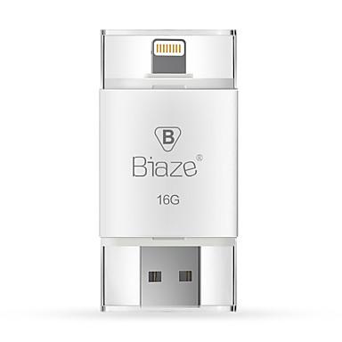 Biaze 16GB Otg flash drive u schijf voor iOS Windows voor iPhone ipad pc