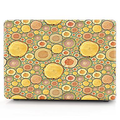MacBook Herbst für MacBook Holzmaserung Tupfen Polycarbonat Stoff