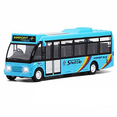 Jucării pentru mașini Vehicul cu Tragere Autobuz Autobuz Simulare Unisex