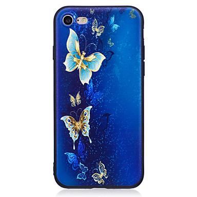 Maska Pentru Apple iPhone 7 Plus iPhone 7 Stras Model Capac Spate Fluture Moale TPU pentru iPhone 7 Plus iPhone 7 iPhone 6s Plus iPhone