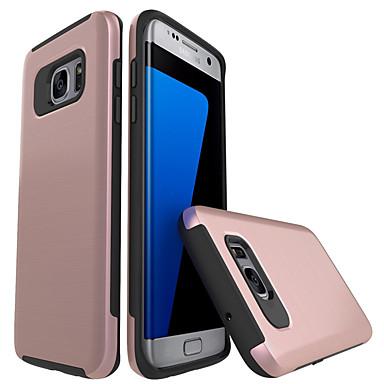 Hülle Für Samsung Galaxy S7 edge S7 Stoßresistent Rückseite Volltonfarbe Hart PC für S7 edge S7 S6 edge S6