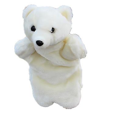 Păpuși de Degete Cadouri de Crăciun Păpuși Jucarii Urs Urs polar Drăguț Animale Încântător Material Din Fâș Pluș Pentru copii Bucăți