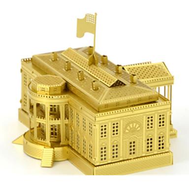 قطع تركيب3D بناء مشهور لهو الفولاذ المقاوم للصدأ كلاسيكي