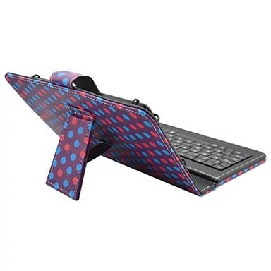 Für Hüllen Cover mit Halterung mit Tastatur Flipbare Hülle Muster Handyhülle für das ganze Handy Hülle Anwendung Hart Kunst-Leder für