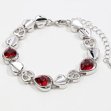 Dames Armbanden met ketting en sluiting Sieraden Vintage Natuur Met de Hand Gemaakt Modieus Kristal Legering Ster Sieraden Bruiloft Feest