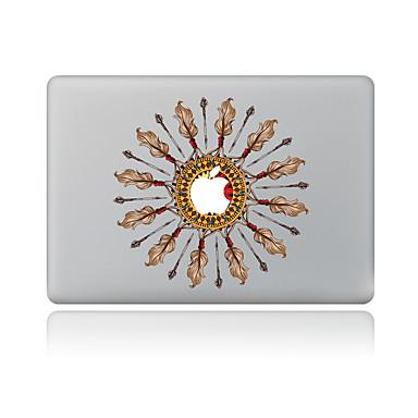 1 piesă Rezistent la Zgârieturi Geometic Plastic Transparent Autocolant Corp Model PentruMacBook Pro 15'' with Retina MacBook Pro 15 ''