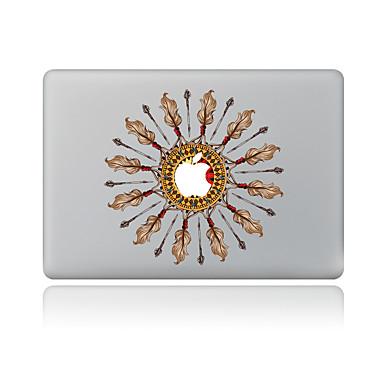 1 stuks Krasbestendig Meetkundig Transparante kunststof Lichaamssticker Patroon VoorMacBook Pro 15'' with Retina MacBook Pro 15 ''